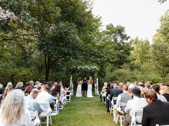 Michelle and Lauren's Wedding in Memphis, Tennessee 78