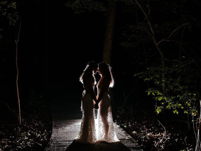 Michelle and Lauren's Wedding in Memphis, Tennessee 132