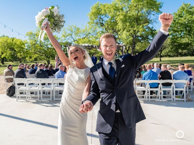 The wedding of Kinsey and Cody
