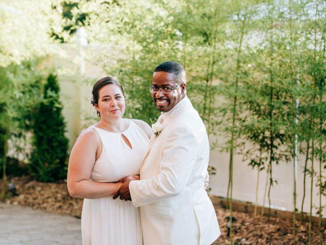 The wedding of Megan and Mario