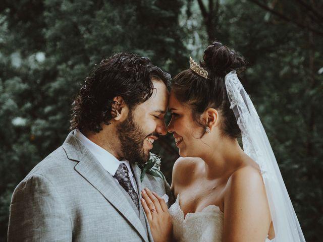 The wedding of Bertha and Michael