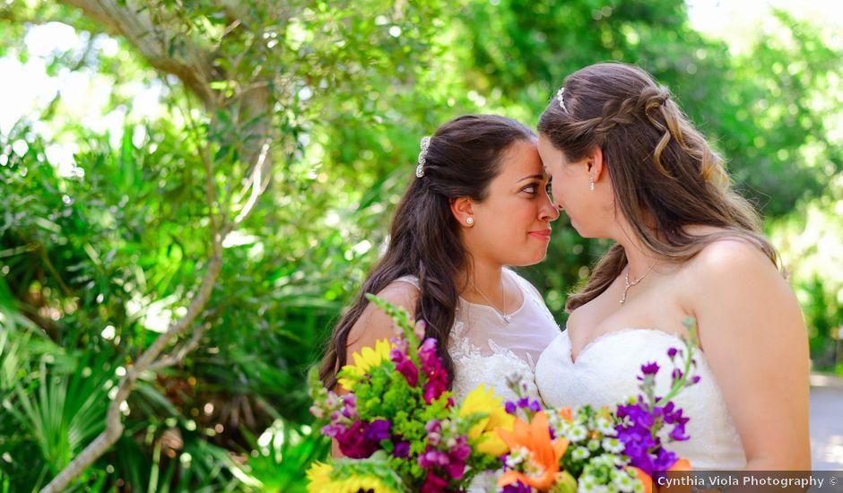 Lara and Rebecca's Wedding in Jacksonville Beach, Florida