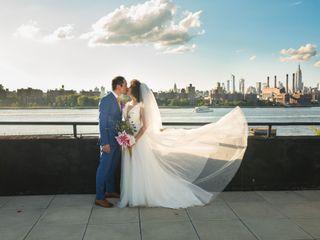 The wedding of Tatiana and Chi
