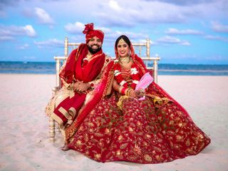 The wedding of Aviral and Gunjan