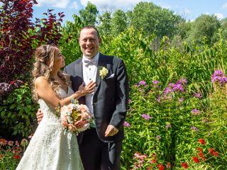 The wedding of Antonella and Brian