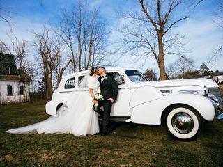 The wedding of Cori and Joe