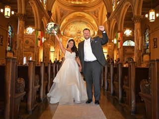 The wedding of Gabriela and Ryan