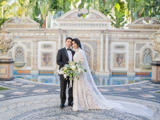 The wedding of Abner and Jennifer