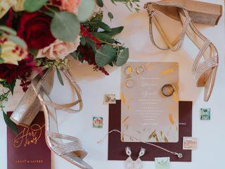 The wedding of Lauren and Grant 2