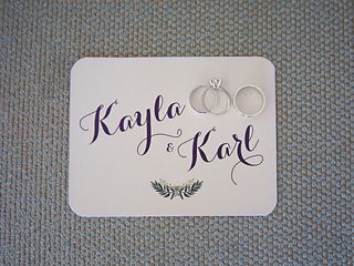 The wedding of Karl and Kayla 2