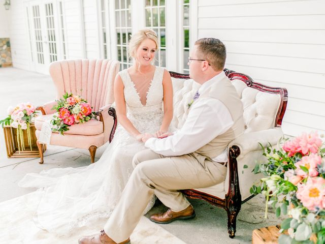The wedding of Haley and Devon