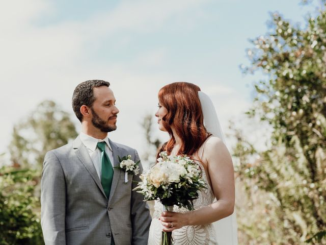 The wedding of Astrid and Brandon