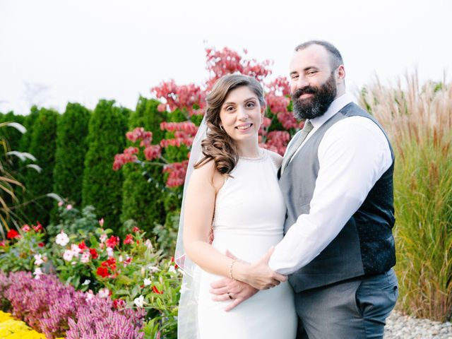 The wedding of Rebecca and Robert
