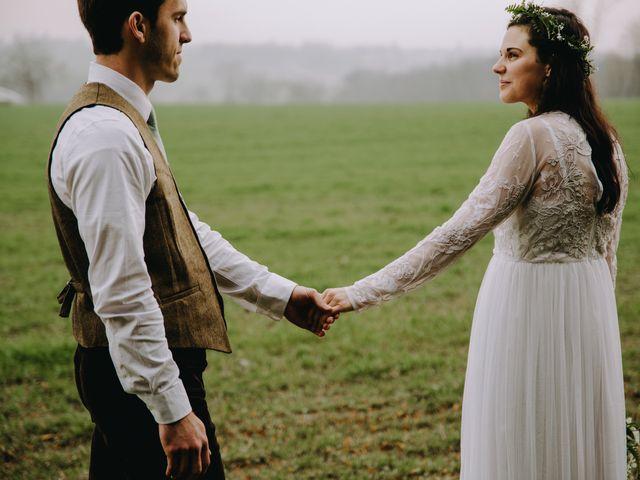 The wedding of Elizabeth and Jesse