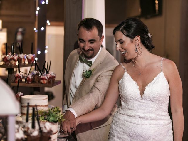 Andrew and Kiara's Wedding in Mims, Florida 35