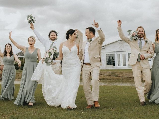 Andrew and Kiara's Wedding in Mims, Florida 61