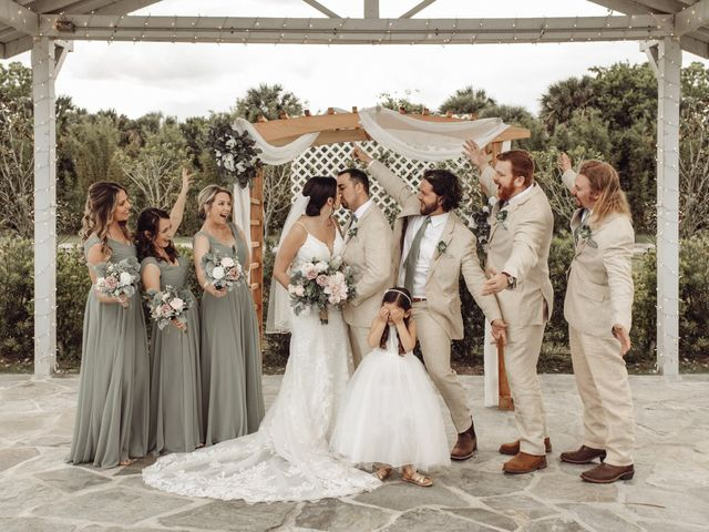 Andrew and Kiara's Wedding in Mims, Florida 66