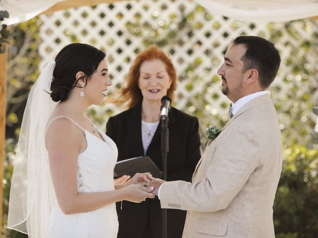 Andrew and Kiara's Wedding in Mims, Florida 91