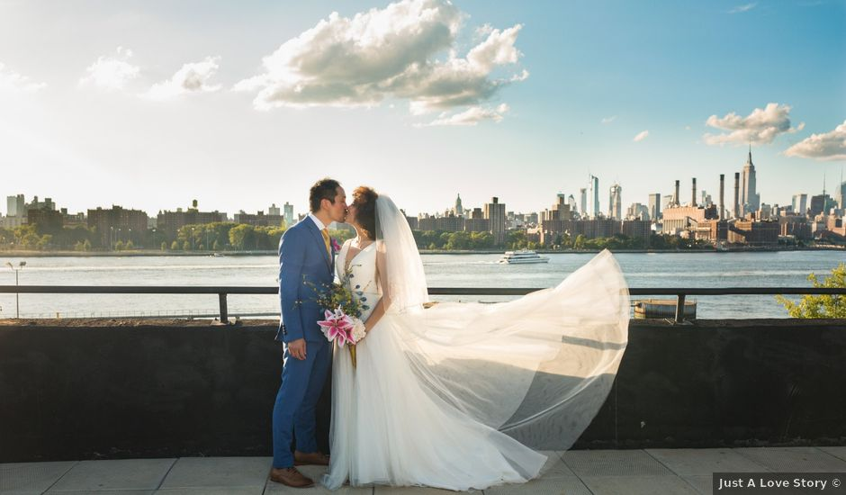 Chi and Tatiana's Wedding in Brooklyn, New York