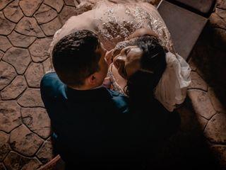The wedding of Rowena and Cody 1