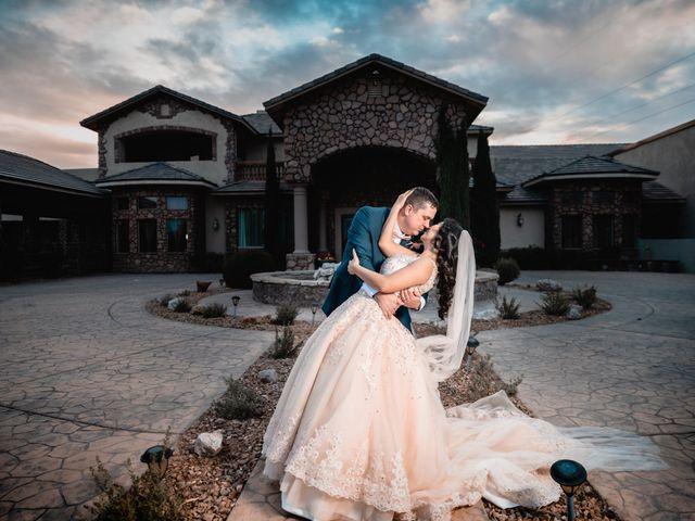 The wedding of Rowena and Cody