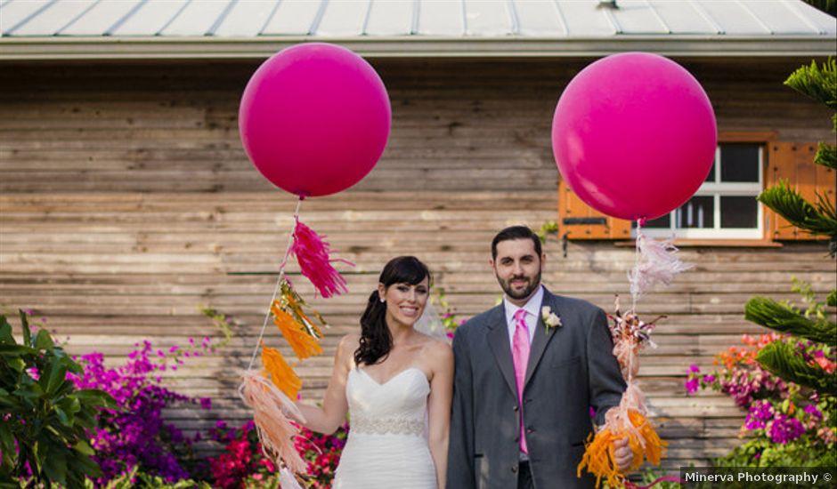 Cristina and Alex's wedding in Florida