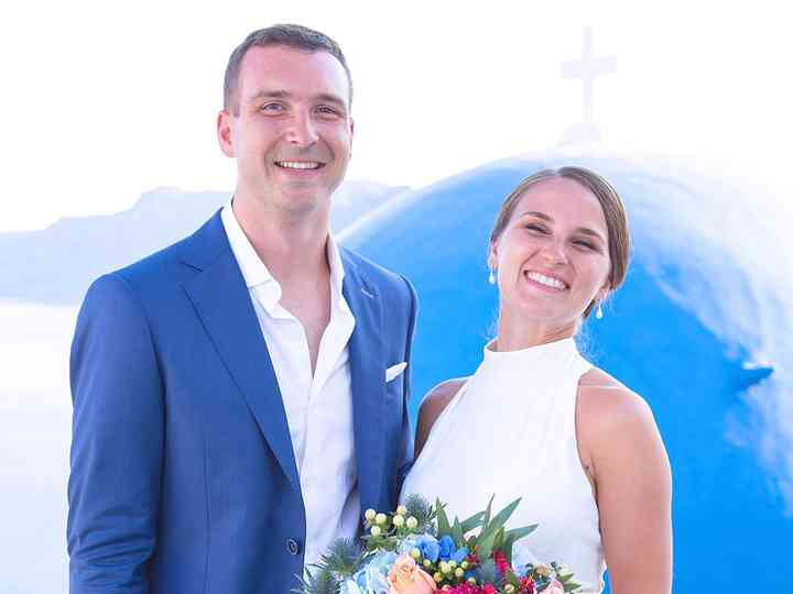 The wedding of Alexandra and Will