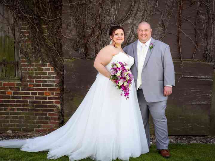 The wedding of Layna and Justin