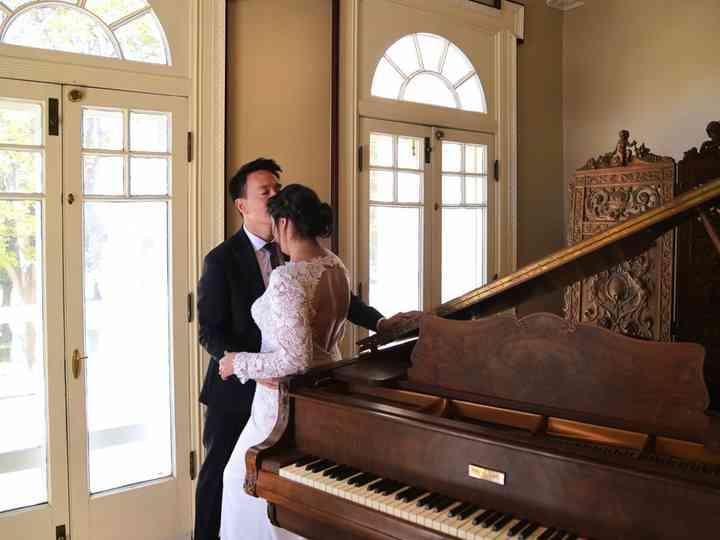 The wedding of Flor and Richard
