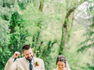 The wedding of Larinda and Sam