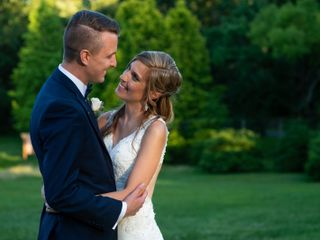 The wedding of Christian and Heather