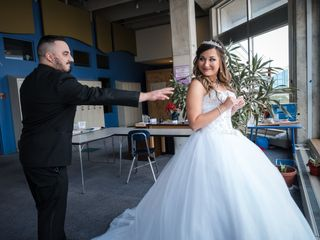 The wedding of Alexis and Vince 3