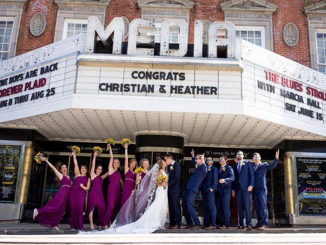 Heather and Christian's Wedding in Media, Pennsylvania 1