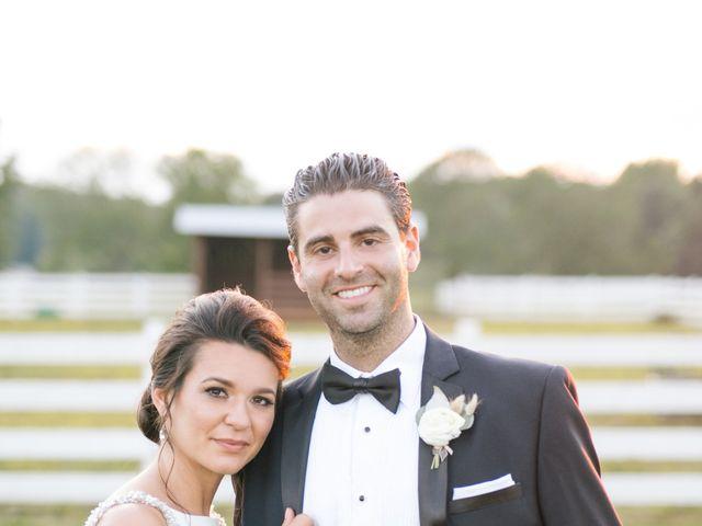 Matt and Tiffany's Wedding in Trinity, North Carolina 16