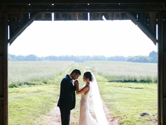 Matt and Tiffany's Wedding in Trinity, North Carolina 28