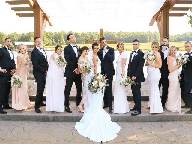 Matt and Tiffany's Wedding in Trinity, North Carolina 35