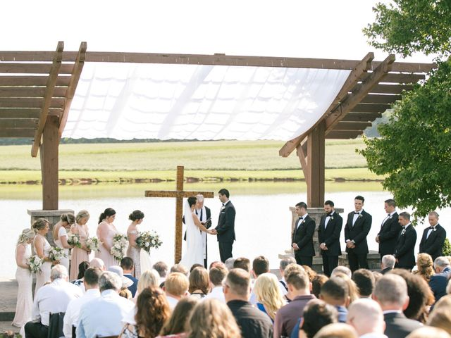 Matt and Tiffany's Wedding in Trinity, North Carolina 39