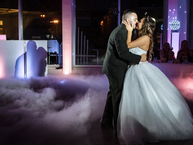 The wedding of Alexis and Vince