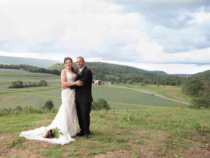 The wedding of Abra and Jason