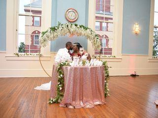 The wedding of Robert and Machika 1