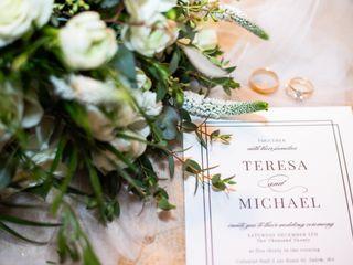The wedding of Teresa and Michael 1