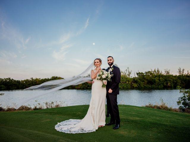 The wedding of Rebecca and Eduardo