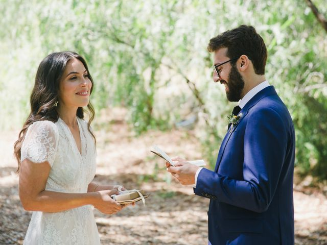 The wedding of Natali and Dick