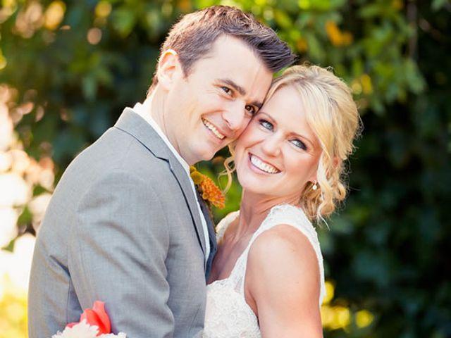 The wedding of Aaron and Jenn