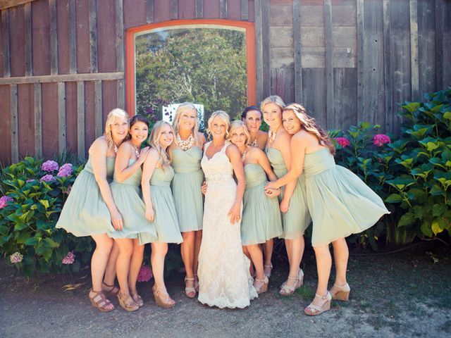 Jenn and Aaron's Wedding in Aptos, California 7