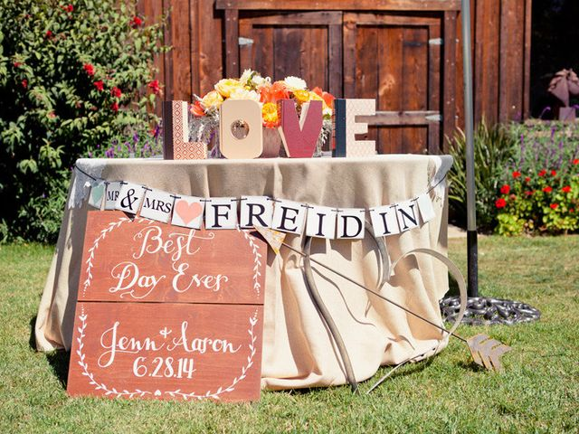 Jenn and Aaron's Wedding in Aptos, California 18