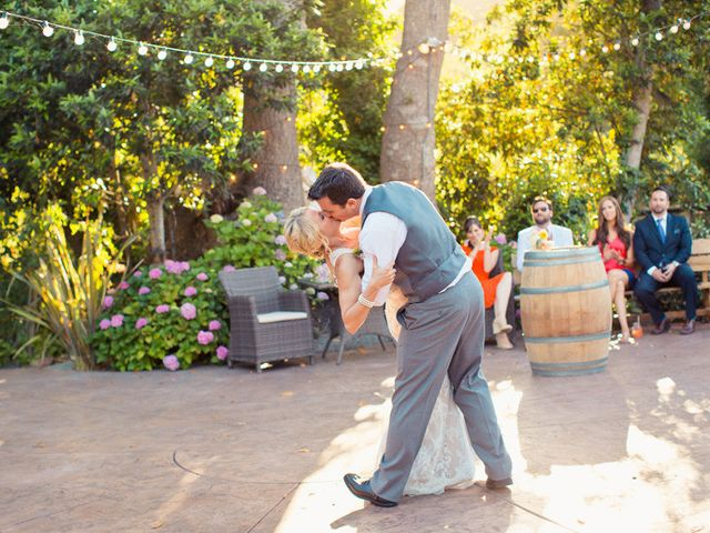 Jenn and Aaron's Wedding in Aptos, California 24