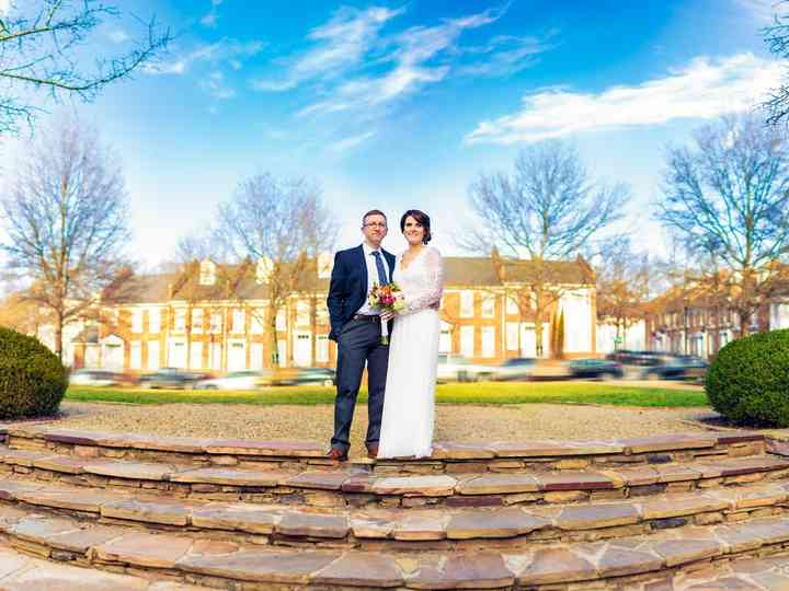 The wedding of Karli and Jason