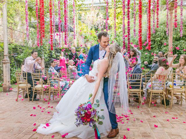 The wedding of Morgan and Nick