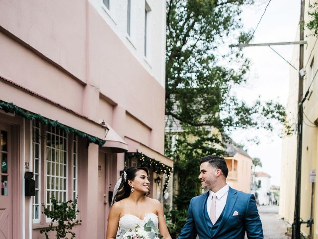 Andy and Karinna's Wedding in Saint Augustine, Florida 38